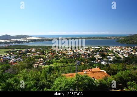 Vista da Lagoa da Conceição - Florianópolis SC Brazil