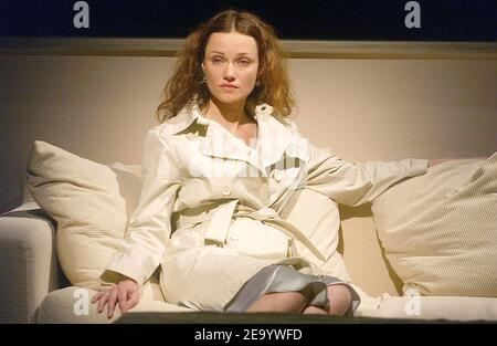 Marine Delterme performs in the play 'Le Manege' at Petit Theatre Montparnasse in Paris, France, on January 25, 2005. Photo by Giancarlo Gorassini/ABACA. - Stock Photo