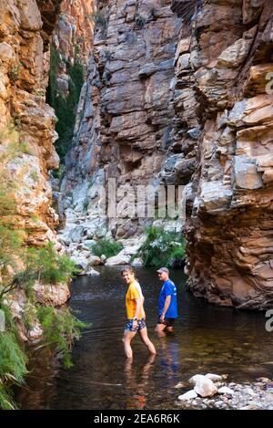 Hiking / kloofing to Cedar Falls, Baviaanskloof, South Africa
