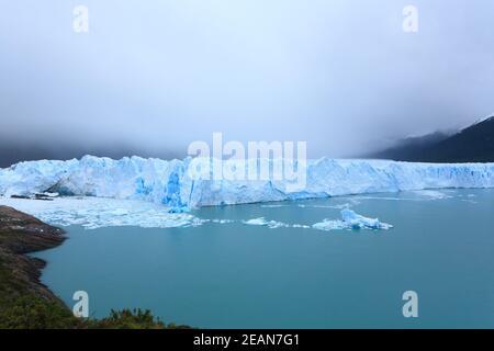 Perito Moreno glacier view, Patagonia landscape, Argentina Stock Photo