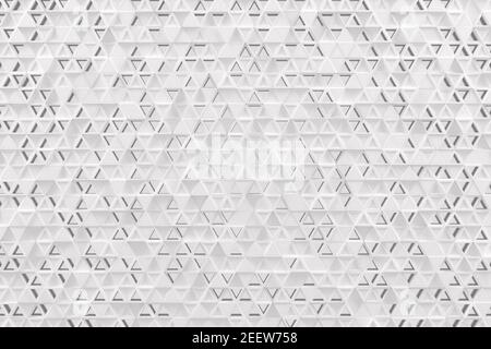Abstract geometric background made of chaotic triangle surface polygons.