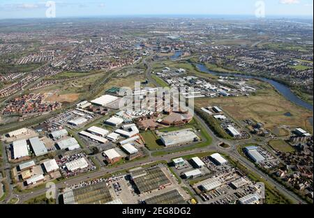 aerial view of Preston Farm Business Park / Preston Farm Industrial Estate, Stockton-on-Tees