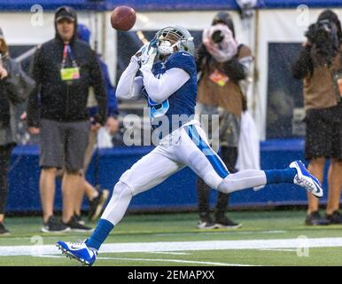 January 27, 2019: NFC wide receiver Amari Cooper (19), of the Dallas Cowboys, can't make the catch in the 4th quarter during the NFL Pro Bowl football game between the AFC and the NFC at Camping World Stadium in Orlando, Florida. Del Mecum/CSM/Sipa USA (Credit Image: © Del Mecum/CSM/Sipa USA)