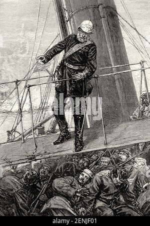 Major General Sir Henry Havelock, 1795 – 1857, a British general Stock Photo