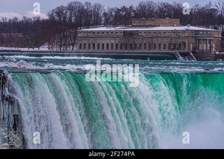 Niagara Falls Ontario Canada in winter
