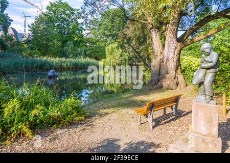 geography / travel, Germany, Hesse, Marburg, Marburg at the Lahn, Old botanical garden, Additional-Rights-Clearance-Info-Not-Available Stock Photo