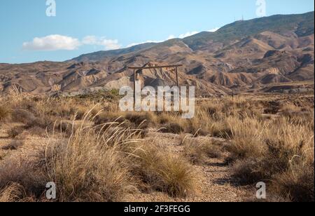 Tabernas Desert Film set location Almeria Spain  Nature Adventure Travel Europa