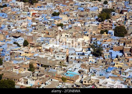 Jodhpur is a popular tourist destination. It is often referred to as the blue city due to the blue indigo colour wash applied to the houses that surro
