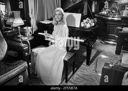 Cheryl Ladd in YTV series in Nov 1984 Murder on the Orient Express