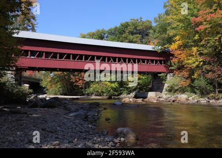 geography / travel, USA, New Hampshire, Conway, Swift River Covered Bridge 1869, White Mountain, Additional-Rights-Clearance-Info-Not-Available