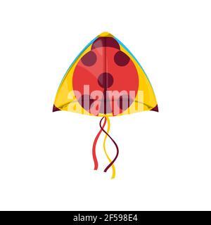 Ladybird shape kite Uttarayan festival symbol Stock Photo
