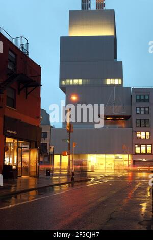 geography / travel, USA, New York, New York City, New Museum of Contemporary Art, Architekten Kazuyo S, Additional-Rights-Clearance-Info-Not-Available