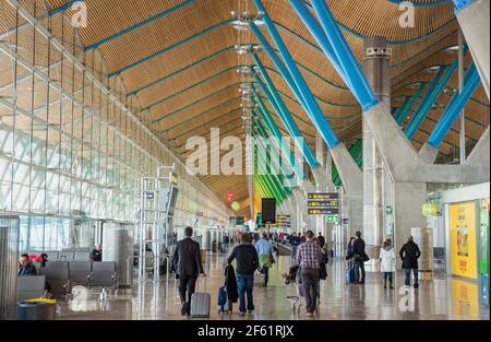 MADRID BARAJAS AIRPORT- TERMINAL 4, MADRID, SPAIN, RICHARD