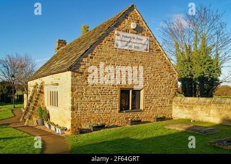 UK, West Yorkshire, Wakefield, Felkirk, St Peter's Church, Old School Room