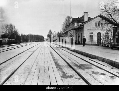 Åmot station, later Åmotors.