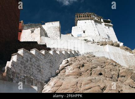 Namgyal Tsemo Gompa - Leh - Ladakh - Jaammu and Kashmir - India Stock Photo