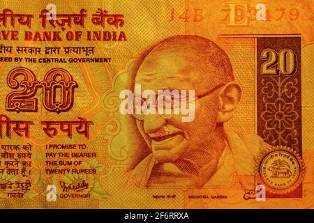 India, Mahtma Gandhi, on a banknote. Mohandas Karamchand Gandhi ( 1869-1948) was an Indian lawyer, anti, colonial nationalist, and political