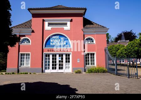 07.05.2020, Oberhausen, Nordrhein-Westfalen, Deutschland - Die Gedenkhalle Oberhausen ist eine 1962 gegruendete staedtische Gedenkstaette in Oberhause
