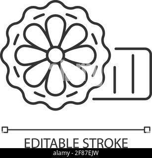 Mooncakes linear icon