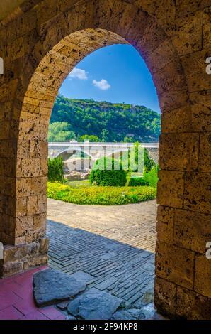 The Holy Forty Martyrs Church in Veliko Tarnovo, Bulgaria - Stock Photo