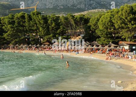 Makarska, Croatia. August 2014