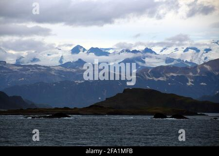 Landscape in the Kukat Bay Katmai National Park, Alaska, United States