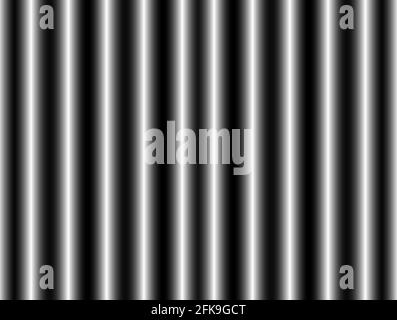 Abstract advertising background, decorative horizontal black white silver gradient dynamic decorative periodic wave wall