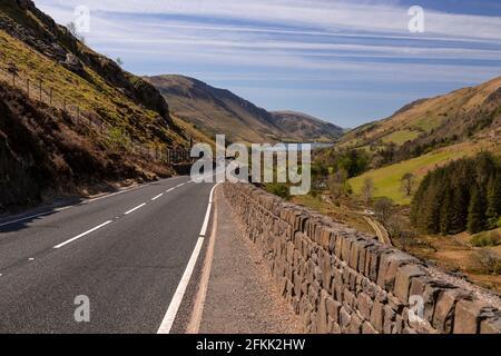 Tal-y-Llyn lake and mountains, Gwynedd, Wales