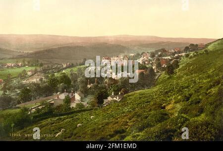 Malvern Hills in Worcestershire circa 1890-1900