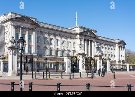 Buckingham Palace, Westminster, City of Westminster, Greater London, England, United Kingdom
