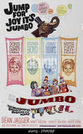 BILLY ROSE'S JUMBO 1962 MGM film with Doris Day and Jimmy Durante