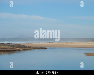 seascape in pastels. A beautiful Australian beach scene