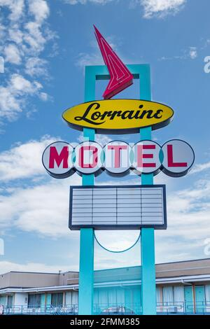 Memphis, TN / USA - September 3, 2020: The Lorraine Motel in Memphis, TN where Martin Luther King, Jr was assassinated.