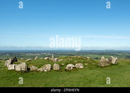 Loughcrews Ancient stones circles, Co Meath, Ireland