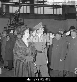 Belgian paras back, King Baudouin and Queen Fabiola, December 1, 1964, The Netherlands, 20th century press agency photo, news to remember, documentary, historic photography 1945-1990, visual stories, human history of the Twentieth Century, capturing moments in time