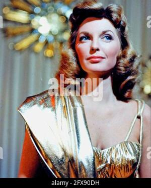 JULIE LONDON (1926-2000) American singer and fim actress about 1957