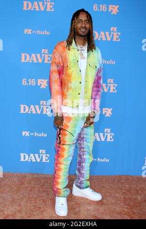 Los Angeles, CA. 10th June, 2021. GaTa at arrivals for DAVE Season 2 Premiere on FXX, The Greek Theater, Los Angeles, CA June 10, 2021. Credit: Priscilla Grant/Everett Collection/Alamy Live News