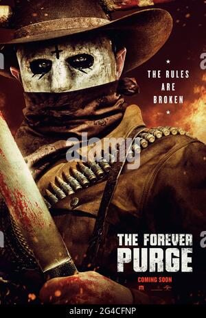 The Forever Purge 2021 Directed By Everardo Gout And Starring Ana De La Reguera Tenoch Huerta