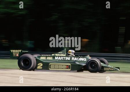 AUTO - F1 1979 - ITALY GP - MONZA - PHOTO: DPPICARLOS REUTEMANN (ARG) / LOTUS 79 FORD COSWORTH - ACTION