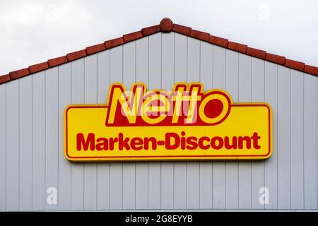 Filiale der Firma Netto in Schwabmünchen
