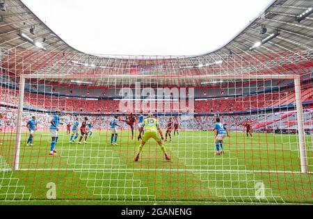 Allianz Arena Stadium inside in the match FC BAYERN MUENCHEN - SSC NEAPEL 0-3 at the Audi Football Summit on July 31, 2021 in Munich, Germany  Season 2021/2022, matchday X, 1.Bundesliga, FCB, München, Napoli, X.Spieltag. © Peter Schatz / Alamy Live News