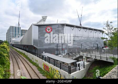 Brentford London , England , UK - The new Brentford Community Stadium home to Brentford football club and London Irish rugby team