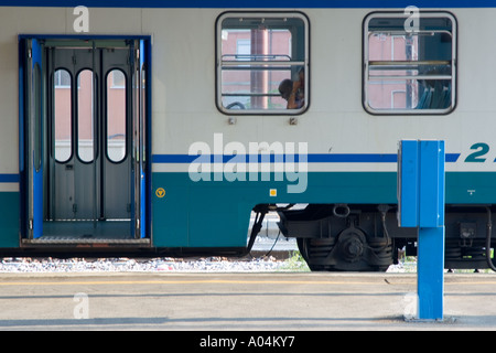 Train Carriages - Florence, Italy - Stock Photo