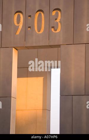Gate of Oklahoma City Bombing Memorial - Stock Photo