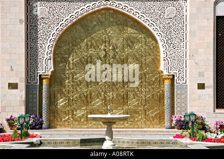 Oman, Zawawi Moschee in Muscat, Zawawi Mosque in Muscat - Stock Photo