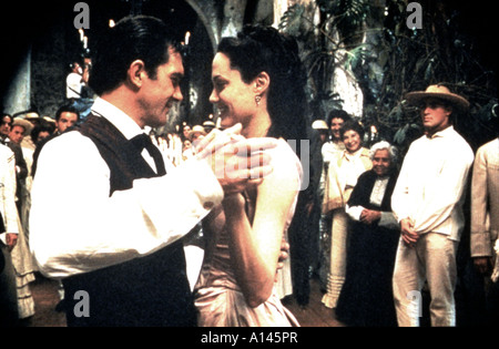 Original sin Year 2001 Director Michael Cristofer Angelina Jolie Antonio Banderas - Stock Photo