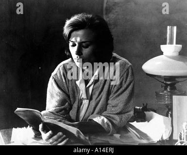 Sasom I En Spegel Year 1961 Director Ingmar Bergman Harriet Andersson - Stock Photo