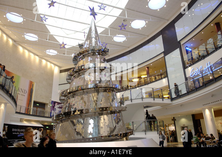 manchester arndale centre shop shopping commercial mall north north west english england british britain uk united - Stock Photo