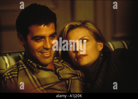 One Fine Day Year 1996 Director Michael Hoffman Michelle Pfeiffer George Clooney - Stock Photo