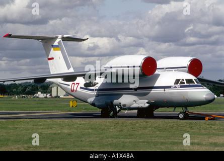 Soviet Antonov An-72 Military heavy transport Aircraft.   GAV 1071-36 - Stock Photo